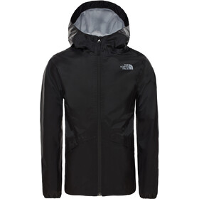 The North Face Zipline Rain Jacket Girls tnf black